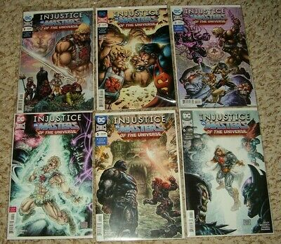 INJUSTICE VS MASTERS OF THE UNIVERSE 1 2 3 4 5 6 1ST PRINTS NM complete 1-6 DC