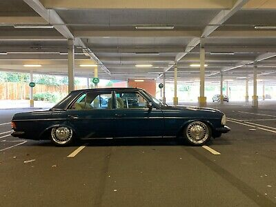 Mercedes W123 230e on Rayvern Hydraulics, Ronal Centra's, Thousands Spent May PX