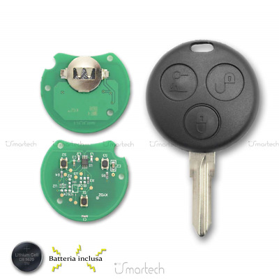 Blank Electronic Key to Program Smart Fortwo 450 Forfour