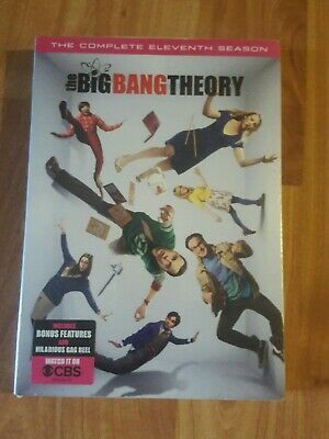 The Big Bang Theory -The Complete Eleventh Season-Dvd New Sealed