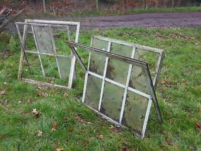 Large Galvanised Industrial Style Windows - 6of