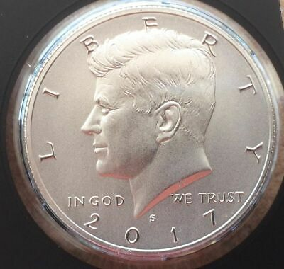 2017 S 225th Anniversary Enhanced Uncirculated Kennedy Half