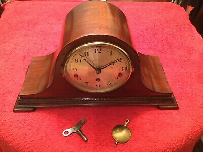 Lovely Vintage Whittington/Westminster chime 8 day mantle clock