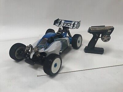 Team Energy G8X 1/8 Scale .21 Nitro Gas RTR RC Racing Buggy Blue - USED