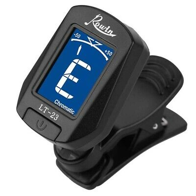 LT-23 Acoustic Guitar Tuner Clip On Tuner for Electric Guitars Bass Chromat R6W4