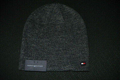 8338f3be2202f TOMMY HILFIGER MENS Beanie hat one size NEW -  18.99