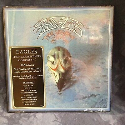 The Eagles - Their Greatest Hits Volumes 1 & 2 [New SEALED Vinyl LP] 180 Gram