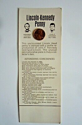 Lincoln-Kennedy Penny Commemorative Coin 1973