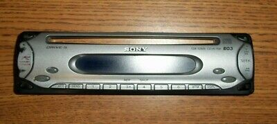 details about sony cdxc4750 car stereo faceplate and wiring harness