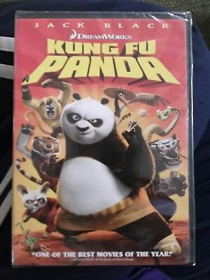 Kung Fu Panda DVD 2008 Widescreen Brand New Factory Sealed Jack Black