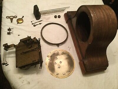 Vintage Musterschutz Westminster Chime 8 Day Clock For Restoration. Rare Clock!