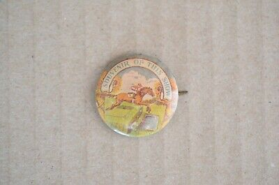 1920s Unusual Small Size Souvenir Of The Easter Show Badge