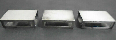 Antique S. Kirk & Sons Sterling Silver Matchbox Cover #90 Lot Of 3