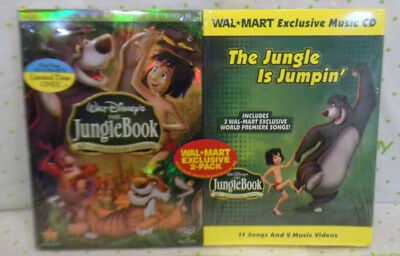 DVD/CD The JUNGLE BOOK 40th Anniversary Ed/Is Jumpin Wal*Mart Exclusive Disney's