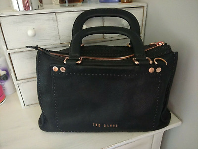 d71fb499f TED BAKER STAB stitch hickory bag - £200.00