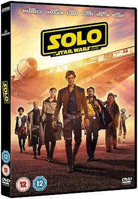 Solo: A Star Wars Story DVD- Breand New & Sealed DVD- Free & Fast Delivery