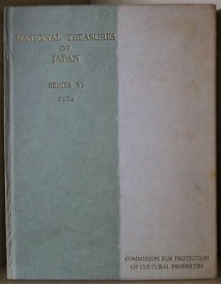 National Treasures of Japan. Series VI.  Catalogue of objects registered of Nati