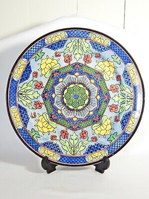 Antique Art Deco 1929 Royal Doulton Floral Pattern 1 Cake Display Cabinet Plate