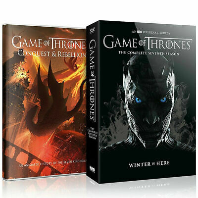 Game of Thrones Season 7 DVD with Conquest & Rebellion Region 2 UK