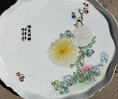 Antique Chinese Porcelain Tray