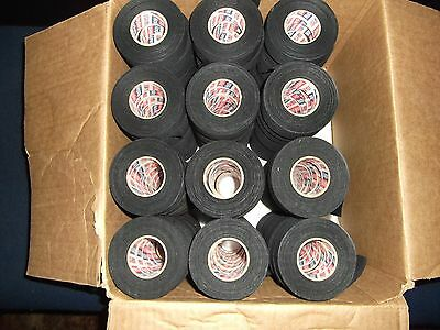 "BLACK MEDICAL TAPE  81 rolls  1""x25yds.    * FIRST QUALITY *"