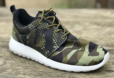 237b7197a187 NIKE ROSHE ONE Print Camo Camouflage 655206-303 Mens Sz 8.5 Shoes ...