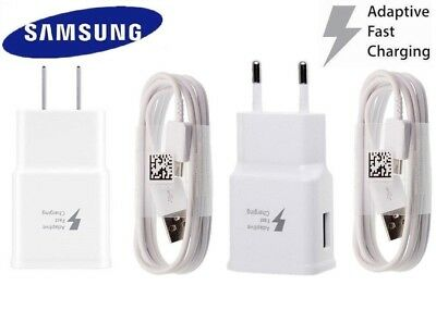 Original White Samsung Adaptive Fast Wall Charger For Galaxy S10 S10+ S10e M30