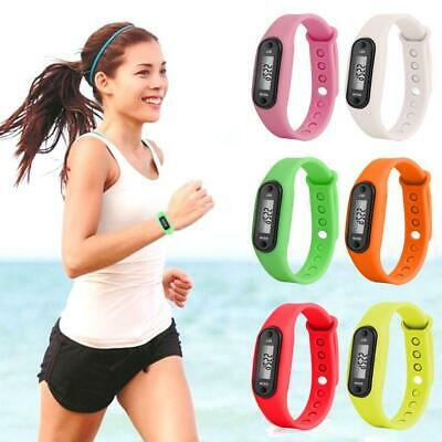Sports Digital LCD Wrist Watch Pedometer Step Walking Calorie Counter Wristbands