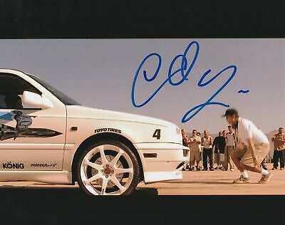 Chad Lindberg Autograph 8x10 The Fast and The Furious Movie Signed COA 2