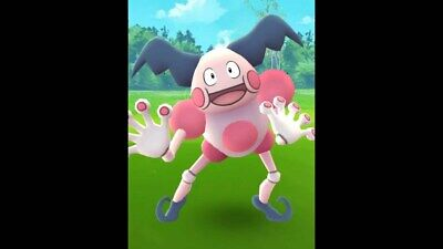 Pokemon Go Catching Service - Regional MrMime - By Hand  - No Spoof - No Bot