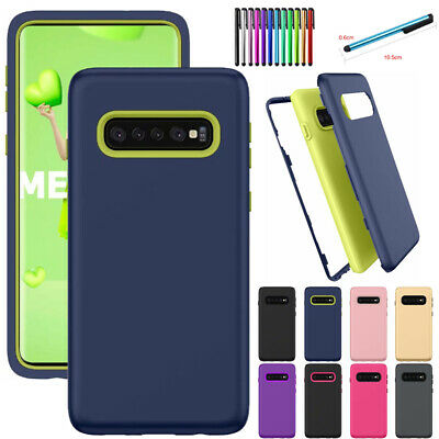 Shockproof Rubber Case Heavy Duty Cover For Samsung Galaxy S10 Plus S10e /Lite