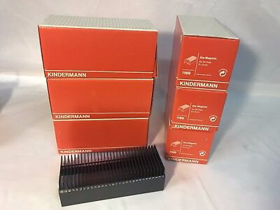 Kindermann 6 x 6 cm Photo Slide Storage Trays Model 1169 Made In Germany x 6