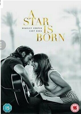 A Star is Born  with Bradley Cooper New (DVD  2018)