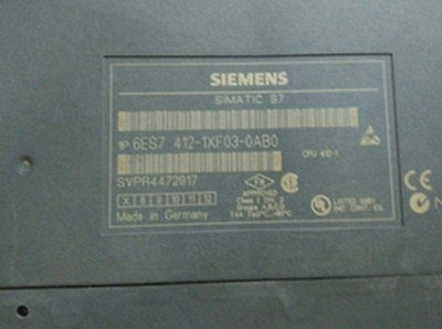 1PC used Siemens 6ES7 412-1XF03-0AB0 6ES7412-1XF03-0AB0 #RS8
