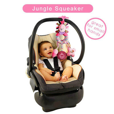 Newborn Baby Early Educational Stroller Car Seat Cot Bed Hanging Toys IT