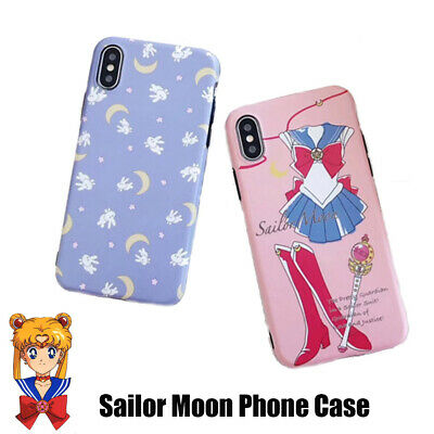 New Cartoon Sailor Moon Cat Soft Silicone Phone Case For iPhone 7 8 Plus X XS
