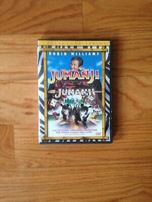 Jumanji Collector's Series DVD starring Robin Williams! Great Condition!