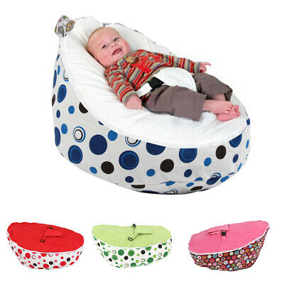 baby bean bag personalised chair seat girls boys safety harness