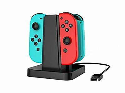 NEW KASILLO USB Charging Stand For NintendoSwitch Joy-Con SWF-2522 Boxed TH51256