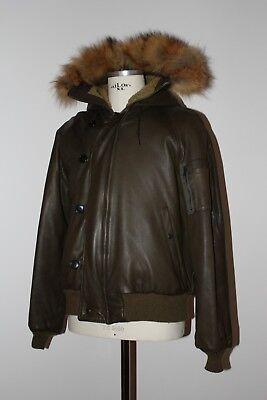 2a6984020d974 Authentic Vintage Schott Giubbotto Pelle Mod. N2B Made In Usa US 44 XL IT 54
