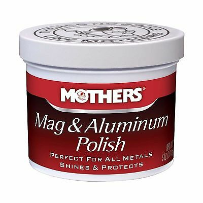 Mothers Mag And Aluminium / Alloy / Metal / Rims Polish Paste 5oz / 141ml -NEW