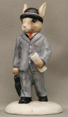 "Royal Doulton Bunnykins - **""Businessman"" - DB203** - Limited Edition New in Box"