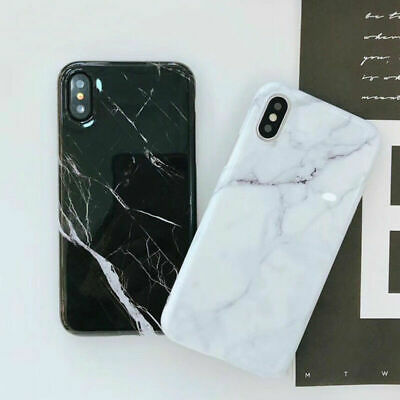 Classic Marble Stone Smooth Soft Phone Case For iPhone X Xr Xs Max 6 6S 7 8 Plus