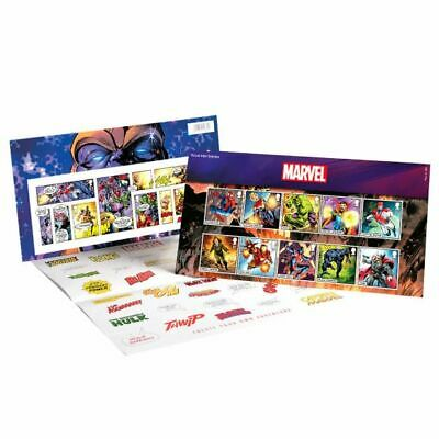 2019 Marvel Iconic Super Heroes - Presentation Pack