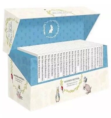 The World Of Peter Rabbits Complete Collection Box The Beatrix Potter New Sealed
