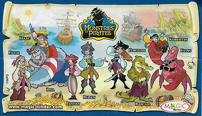 BPZ Kinder Monstres et Pirates Isaac NV109 France 2008