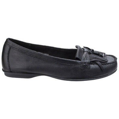cfe8c0e299e HUSH PUPPIES IRIS SLOAN Ladies Womens Leather Slip On Stylish Loafer ...