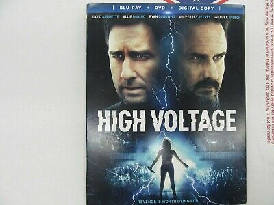 High Voltage (Blu-Ray + DVD + Digital) BRAND NEW SEALED