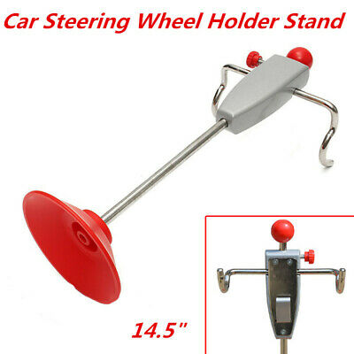 14.5inch Iron Car Alignment Rack Truck Van Steering Wheel Holder Stand Tool