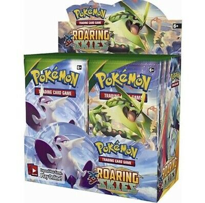 Pokemon 36x Roaring Skys Booster Packs WEIGHTED